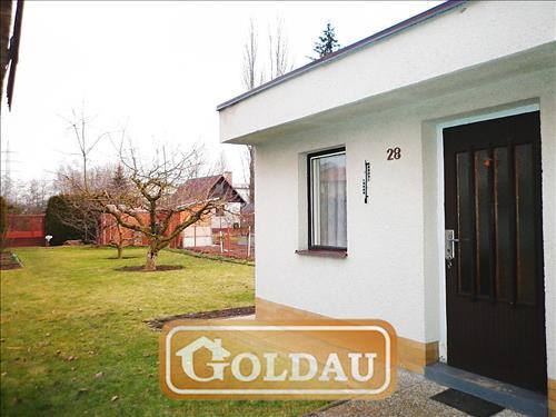 Zděná chata se zahradou v dosahu MHD České Budějovice