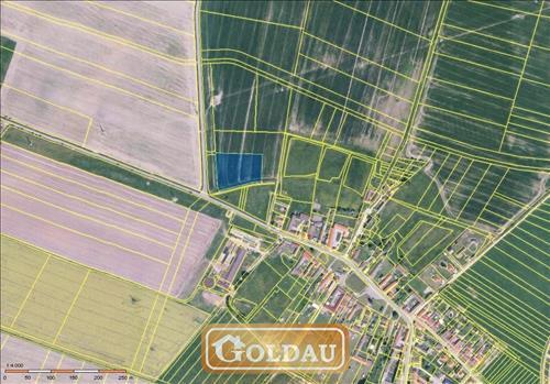 Pozemek, 6.970 m2, Žíšov - Veselí nad Lužnicí, okr. Tábor
