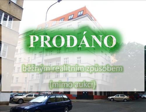 Byt 2+kk, ul. Biskupcova, Praha 3 - Žižkov (Běžný prodej - bez aukce)
