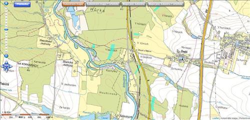 Lesní pozemky 64.810 m2, Katastrální území Doubí nad Lužnicí a Planá nad Lužnicí